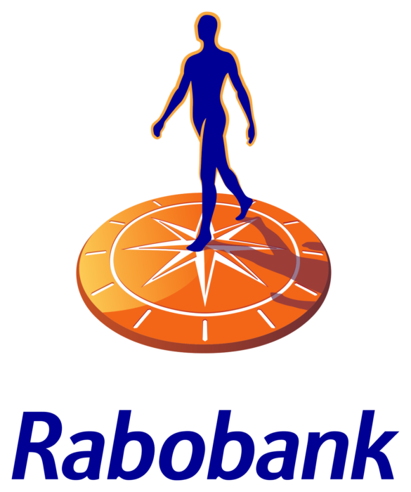 Rabobank logo, logotype, emblem