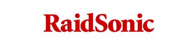 RaidSonic logo, logotype