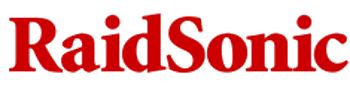 RaidSonic logo, red
