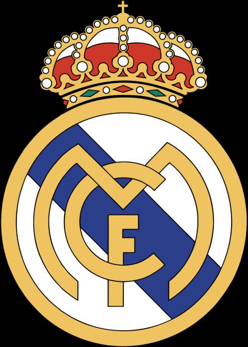 Real Madrid CF Logo 1997