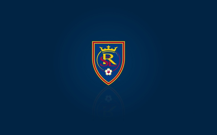 MLS club Real Salt Lake - wallpaper, desktop background with logo, 1920x1200px