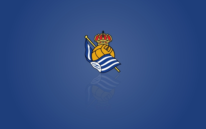 Real Sociedad desktop background, widescreen wallpaper with logotipo - 1920x1200