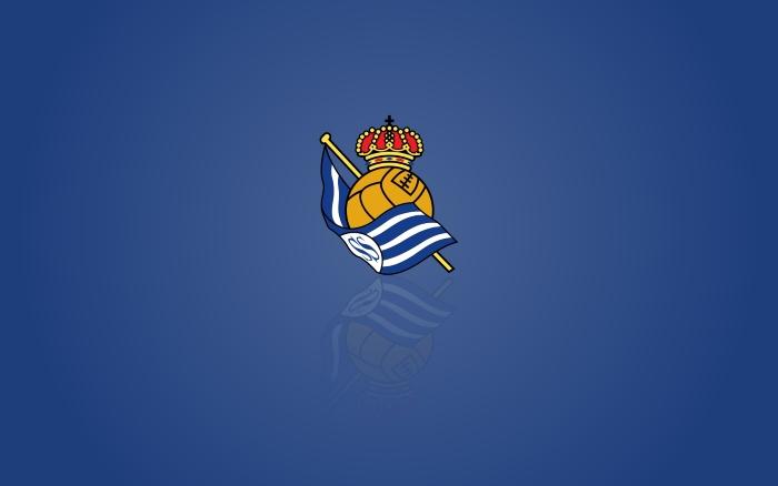 Real Sociedad desktop background, widescreen wallpaper with logotipo - 1920x1200