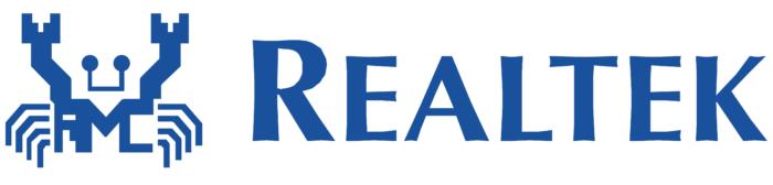 Realtek logo, white bg