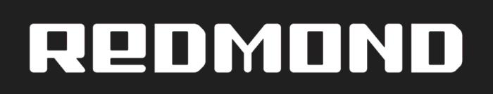 Redmond logo, gray bg