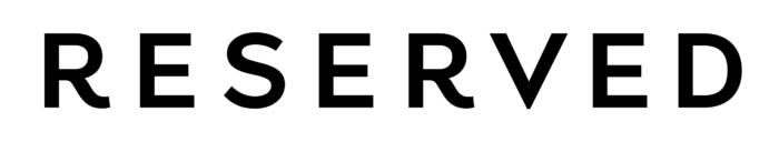 Reserved logo, full black