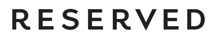 Reserved logo, logotype, wordmark