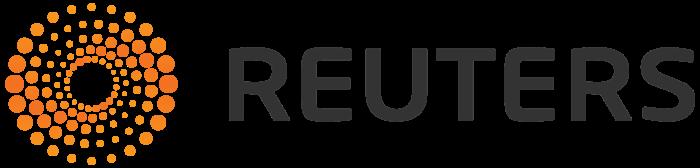 Reuters logo, gray