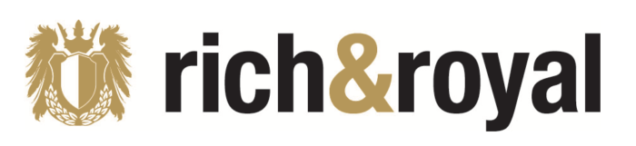 Rich & Royal logo, logotype