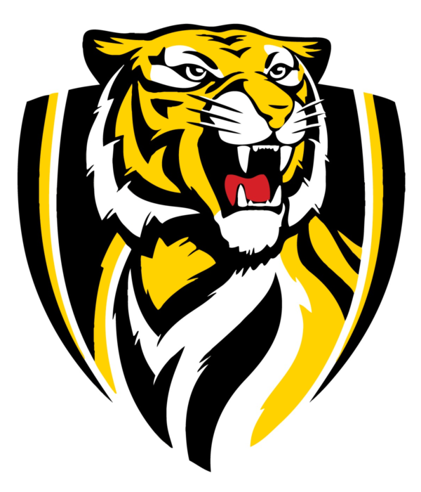 Richmond Tigers logo, logotype