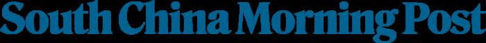 SCMP logo, blue
