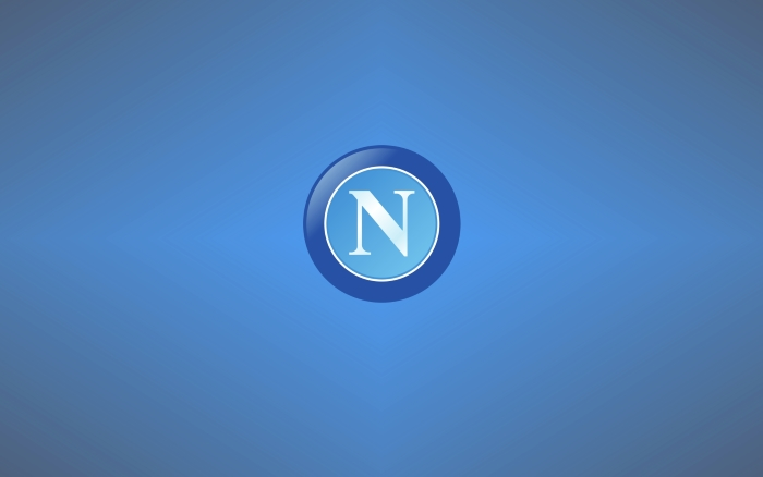 SSC Napoli wallpapers, logo, wide background - 1920x1200 px