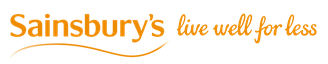 Sainsbury's logo and slogan, horizontal