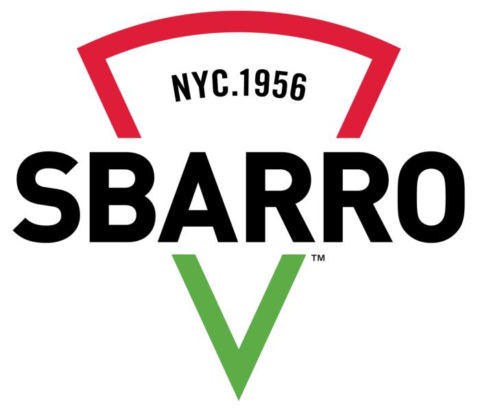Sbarro logo, white bg