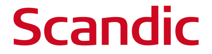 Scandic logo, wordmark