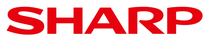 Sharp logo, wordmark
