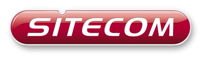 Sitecom logo, white background