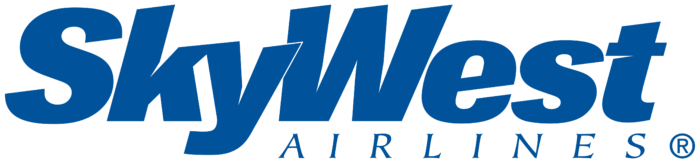 SkyWest logo, white background