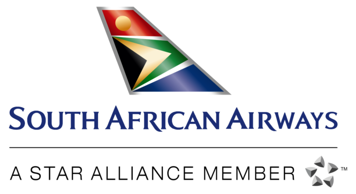 South African Airways logo, white bg, SAA