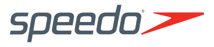 Speedo logo, gray-red