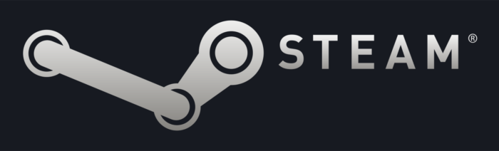 Steam logo, logotype