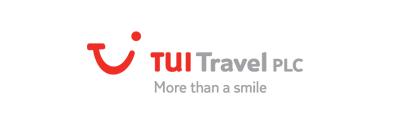 TUI Travel logo with slogan