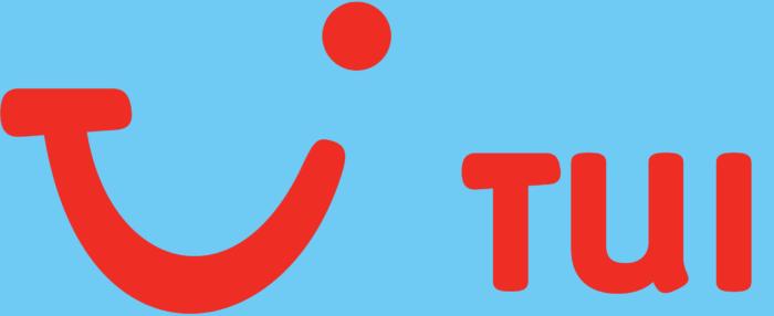 TUI logo, blue
