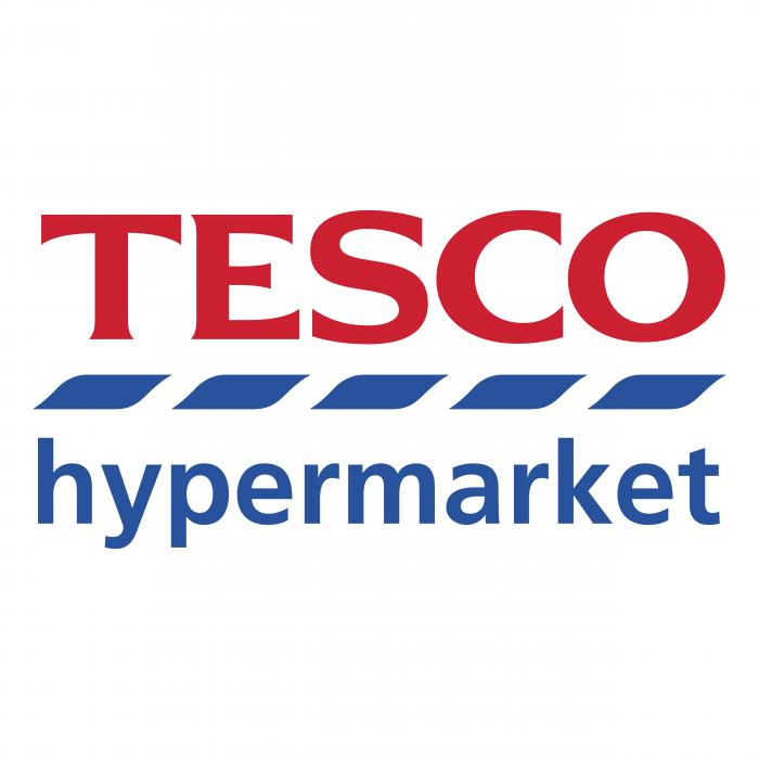 Tesco logo hypermarket