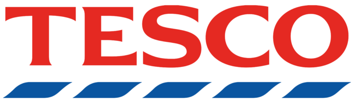 Tesco logo, logotype
