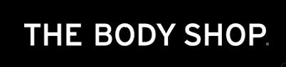 The Body Shop logo, black