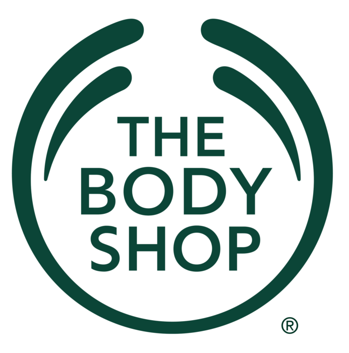 The Body Shop logo, green