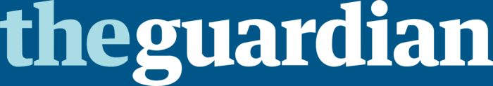 The Guardian logo, blue