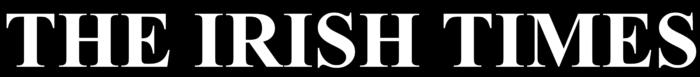 The Irish Times logo, black