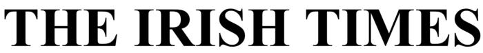 The Irish Times logo, white bg