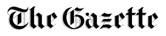 The Montreal Gazette wordmark, logo