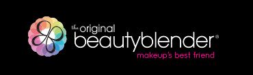 The Original BeautyBlender logo with slogan