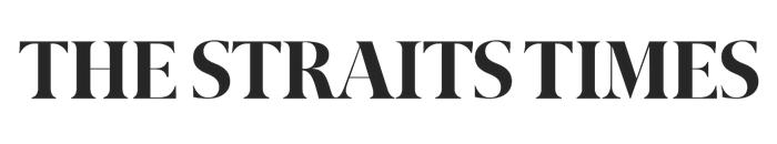 The Straits Times logo, black