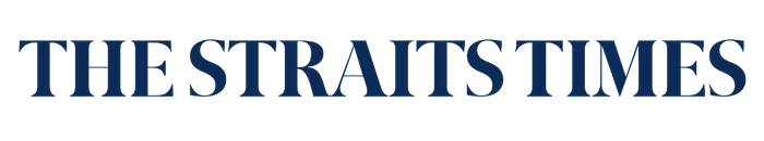 The Straits Times logo, wordmark
