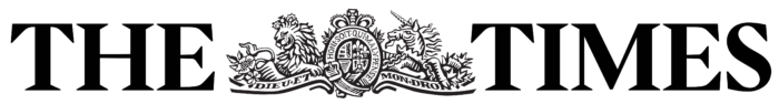 The Times logo, white bg