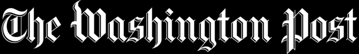 The Washington Post logo, black