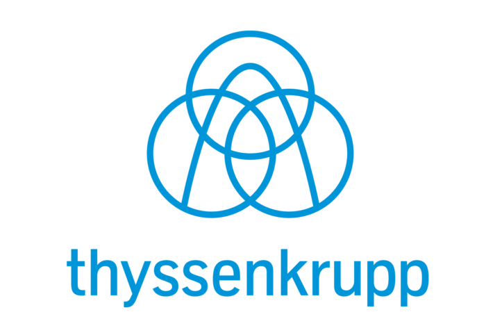 Thyssenkrupp logo, logotype