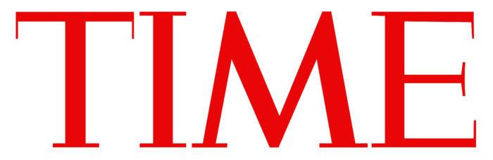Time logo, red