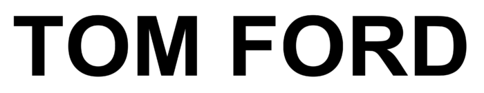 Tom Ford logo, wordmark, logotype