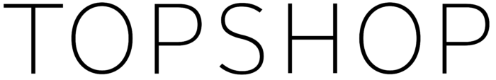 Topshop logo, wordmark