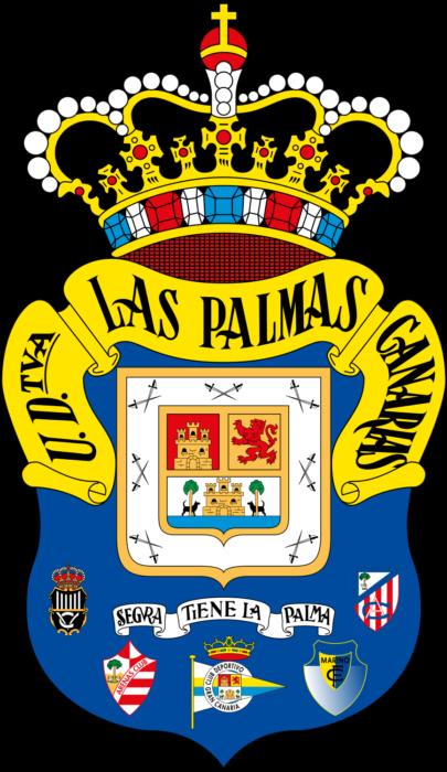 UD Las Palmas logo, logotipo, logotype