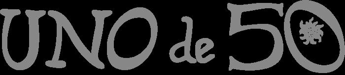 UNOde50 logo, logotype