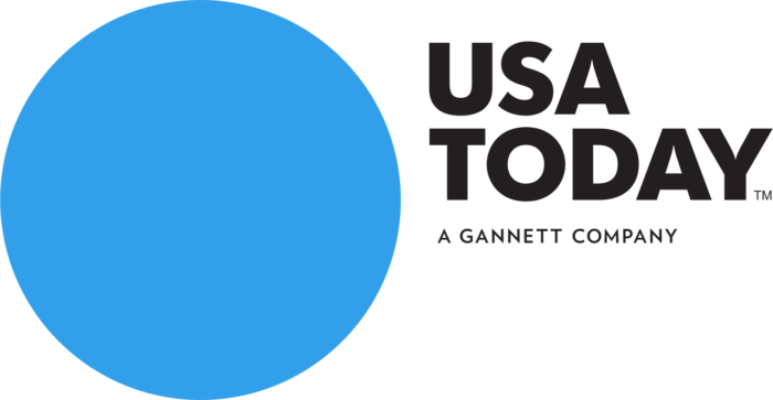 USA Today logo, logotype