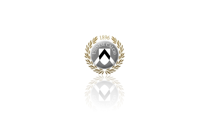 Udinese Calcio wallpaper, logo, white desktop background - 1920x1200
