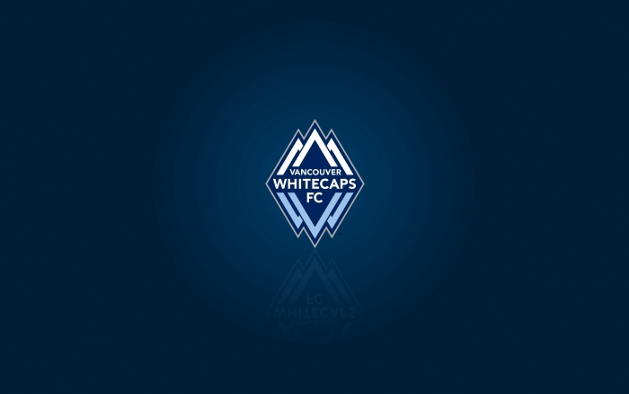 MLS club Vancouver Whitecaps FC - background with logo, HD desktop wallpaper 1920x1200