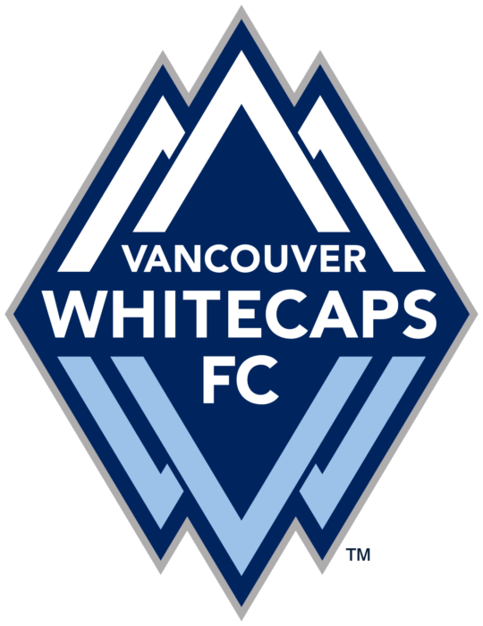 MLS club Vancouver Whitecaps FC logo, logotype